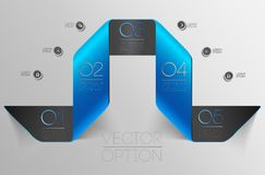 Design elements for options Royalty Free Stock Photo
