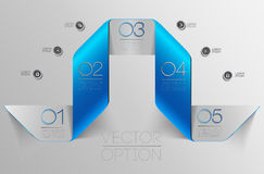 Design elements for options Stock Photo