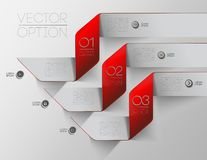 Design elements for options Royalty Free Stock Image