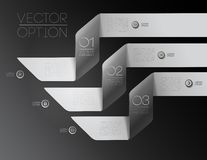 Design elements for options Stock Photography
