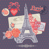Design Elements - Paris Vintage Royalty Free Stock Image