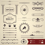 Design elements part 1 Stock Images