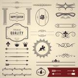 Design elements part 1 Stock Images