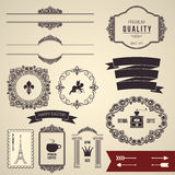 Design elements part 2 Royalty Free Stock Image