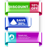 Design elements for sale. Royalty Free Stock Photos