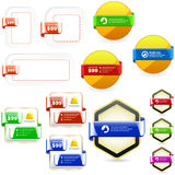 Design elements for sale. Royalty Free Stock Photo