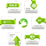 Design elements for sale. Royalty Free Stock Image