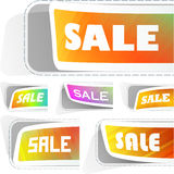 Design elements for sale Stock Photos