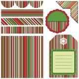 Design elements for scrapbook - stripe Royalty Free Stock Photos