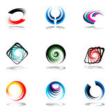 Design elements set. Stock Photography
