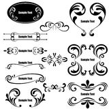 Design elements set Royalty Free Stock Images