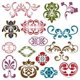 Design elements set Royalty Free Stock Images