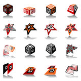 Design elements set. Royalty Free Stock Image