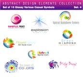 Design Elements - Set 4. Collection of Design Elements Set 4 - Other set in my Portfolio Royalty Free Stock Image