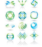 Design elements set. Stock Photos