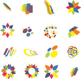 Design elements set Stock Images