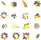 Design elements set Stock Images