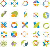 Design elements set. Stock Images