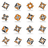 Design elements set. abstract icons. Stock Photos