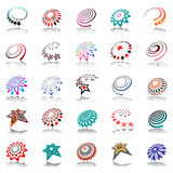 Design elements set. Abstract icons. Stock Images