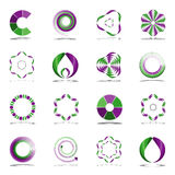 Design elements set. Abstract icons. Stock Photography