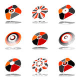 Design elements set. Abstract icons. Royalty Free Stock Image