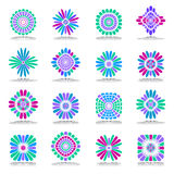 Design elements set. Abstract icons. Royalty Free Stock Photos