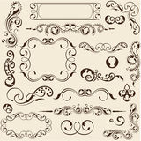 Design elements set Stock Photo