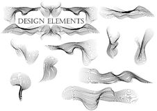 Design elements 3 Stock Images