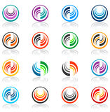 Design elements set. Vector. Stock Image