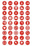 Design Elements, Set Vector Icons Royalty Free Stock Image