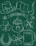 Design elements for  St Patricks Day Royalty Free Stock Photo