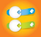 Design elements template Stock Photo