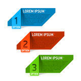 Design elements template Stock Images