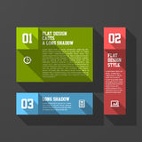 Design elements template Royalty Free Stock Images