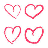 Design elements for Valentine`s day. Stock Photography