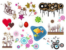 Design elements, vector Royalty Free Stock Images