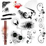 Design elements-vector set Stock Images
