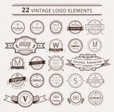 Design elements. Vintage retro style. Arrows Stock Image