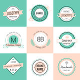 Design elements. Vintage retro style. Arrows Royalty Free Stock Images