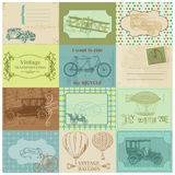 Design Elements - Vintage Transportation Stock Images