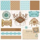 Design elements - Vintage Wedding Set Royalty Free Stock Image