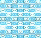 The design of envelope blue wallpaper background. By Black-Hard Artstudio Stock Photo