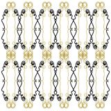 Design exotic Ornaments blackgold Royalty Free Stock Image