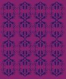 Design-exotische Verzierungen auf weißen Azteken lizenzfreie abbildung
