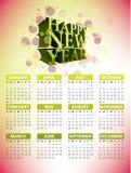 design för 2011 kalender Stock Illustrationer