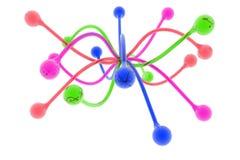 design för 5 all färger stock illustrationer