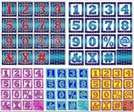 Design för abcalfabetbokstäver Royaltyfria Bilder