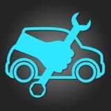 Design för auto reparation Arkivfoton