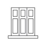 Design för beståndsdelar för kontor för mapp för Pictogramuppsättningbok stock illustrationer